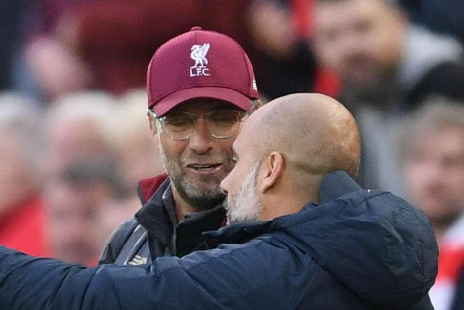 Guardiola v Klopp: Coronavirus puts latest chapter of a defining rivalry on hold