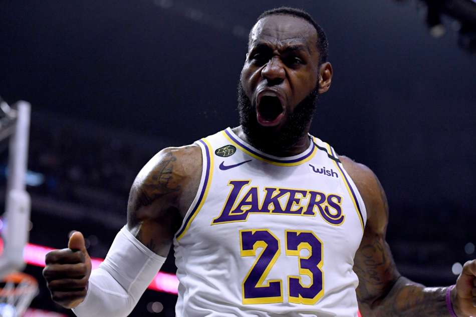Coronavirus: LeBron James remaining optimistic over NBA season