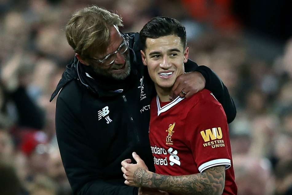 Coutinho sale to Barca was 'difficult' but 'fair', says Liverpool boss Klopp