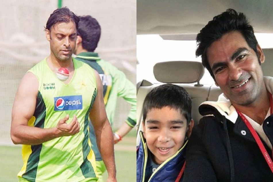 Hilarious! Shoaib Akhtar challenges Mohammad Kaif and his son for a match to test his pace