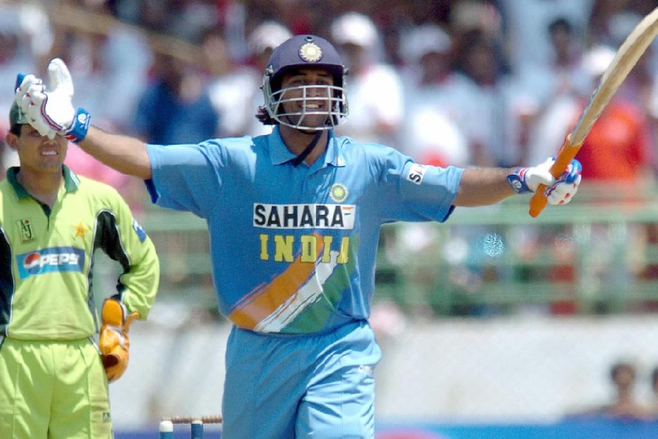Ms Dhoni Announced His Arrival On Big Stage With His Maiden Odi Century On This Day In 2005