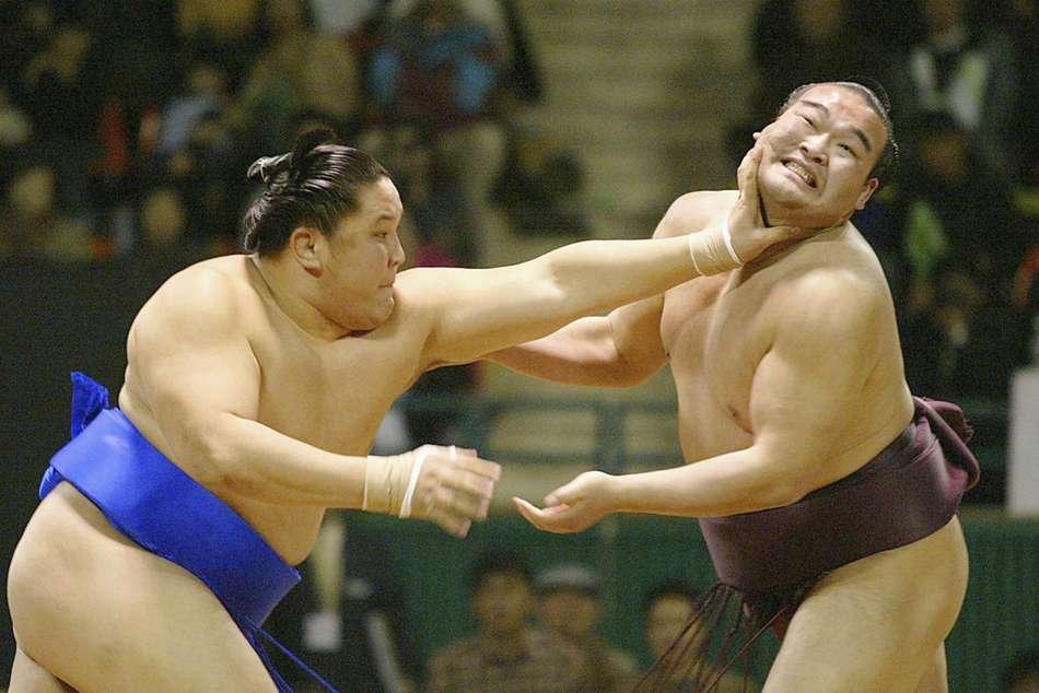 Sumo Wrestler In Japan Tests Coronavirus Positive