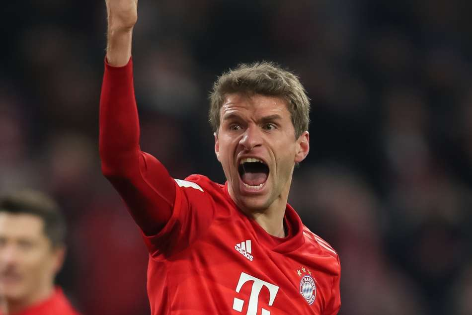 Thomas Muller extends Bayern Munich stay to 2023