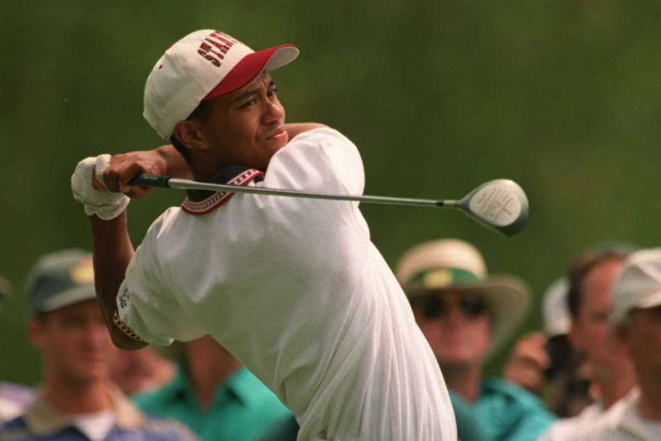 Tiger Woods' major debut became a tale of Burnt Biscuits, tough lessons and Augusta awe