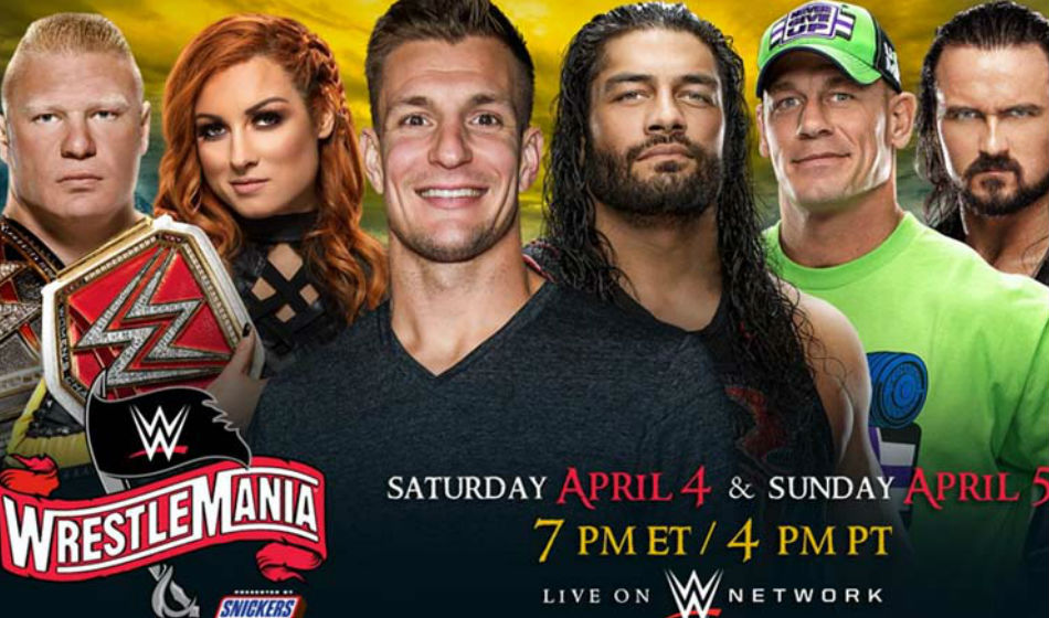 WWE WrestleMania 36: Match card, Date, Start Time and Where to Watch