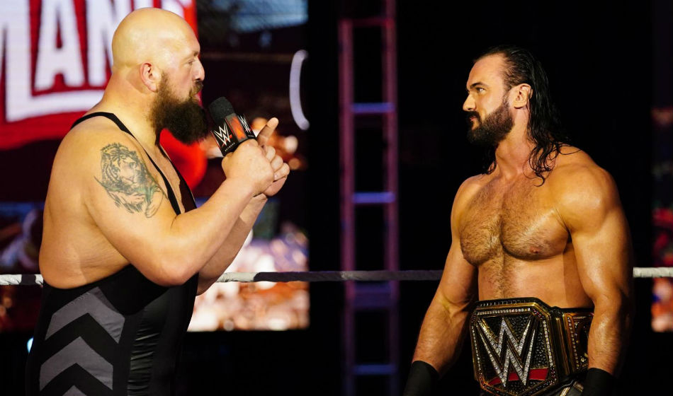 Big Show returned to challenge Drew McIntyre for WWE title on Raw (image courtesy WWE.com)