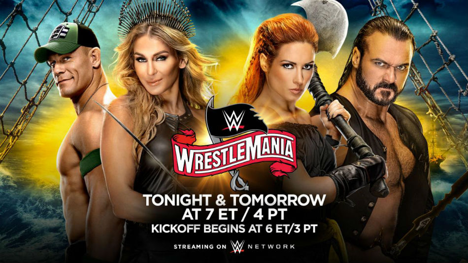 WWE Wrestlemania 36 match card, preview and predictions