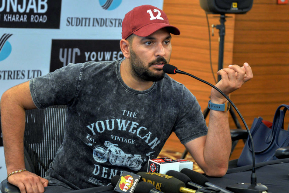 Coronavirus: Yuvraj Singh pledges to donate Rs 50 lakh in fight against pandemic