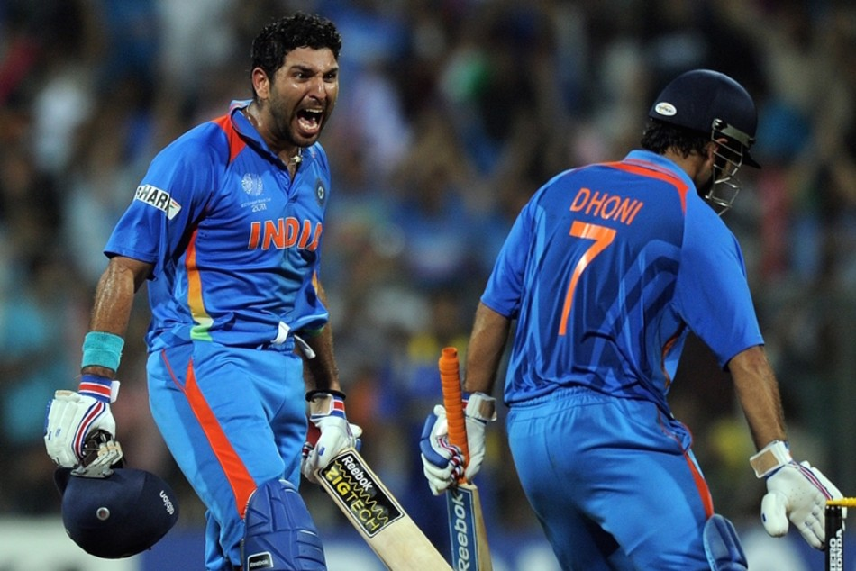 Yuvraj Singh brutally trolls Ravi Shastri for not tagging him and MS Dhoni in World Cup tweet, says 'we were also there'