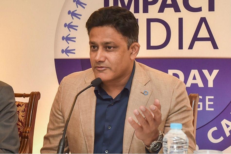 Anil Kumble says saliva ban is just an interim measure