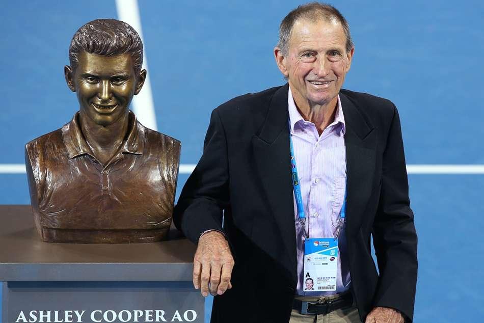 Ashley Cooper Dies Rod Laver Tribute Tennis Australia