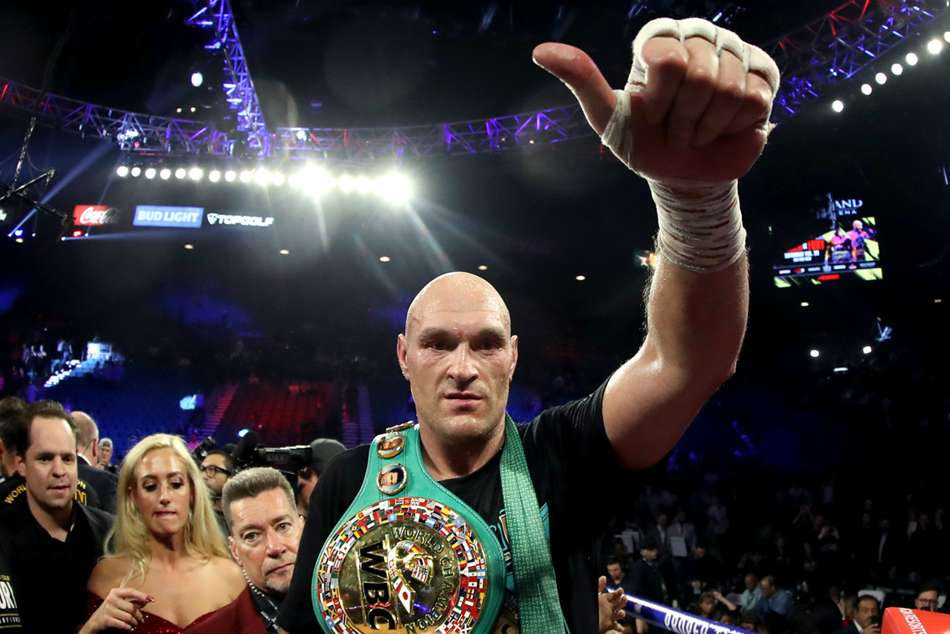 Tyson Fury says he accepted fight against Mike Tyson