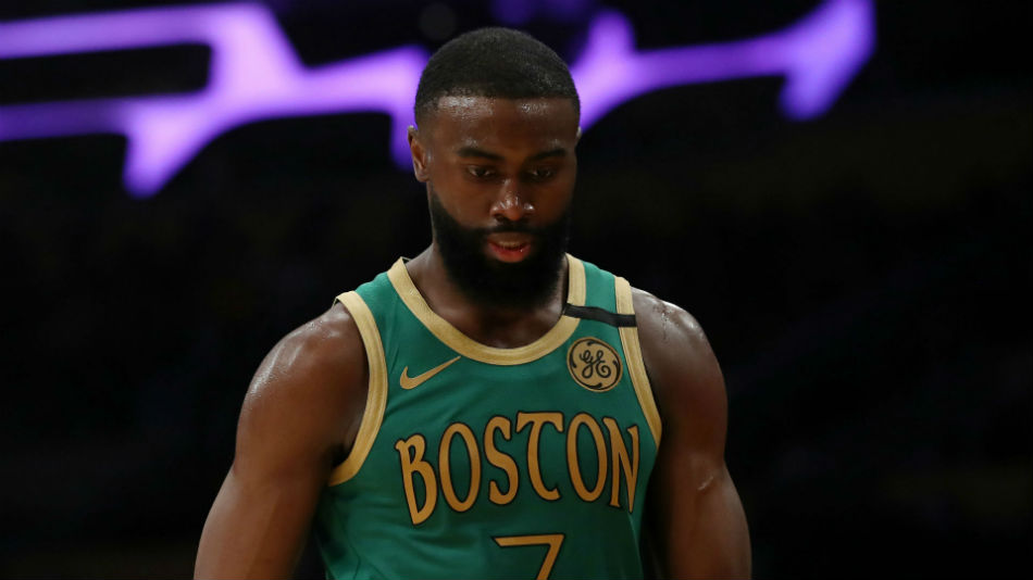 Celtics' Jaylen Brown leads peaceful protest in Atlanta