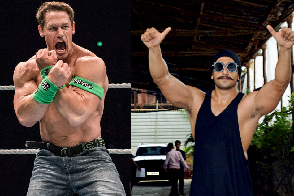 John Cena labels Bollywood star Ranveer as