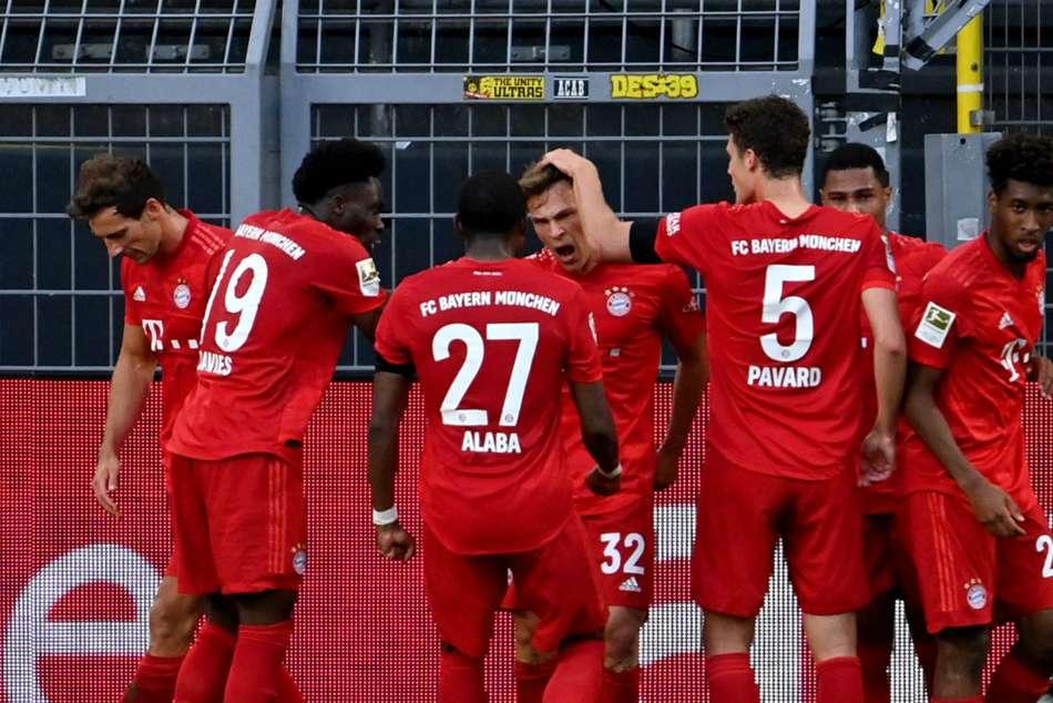 Borussia Dortmund 0-1 Bayern Munich: Kimmich's Klassiker strike extends leaders' advantage