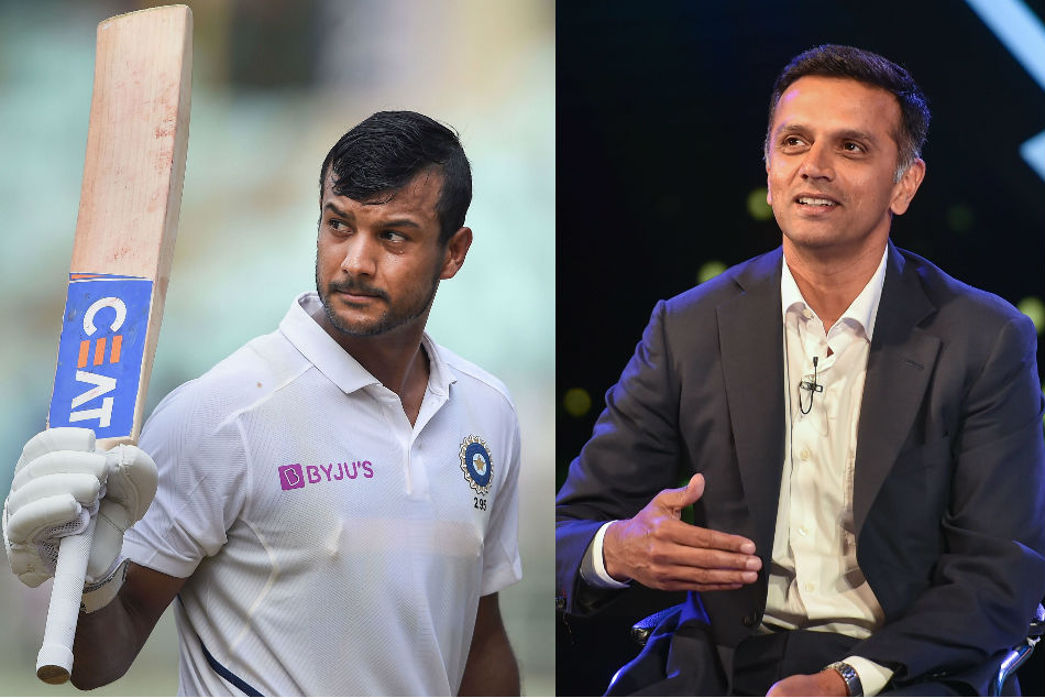 Mayank Agarwal reveals Rahul Dravid saved him moving into his quest to get India call-up
