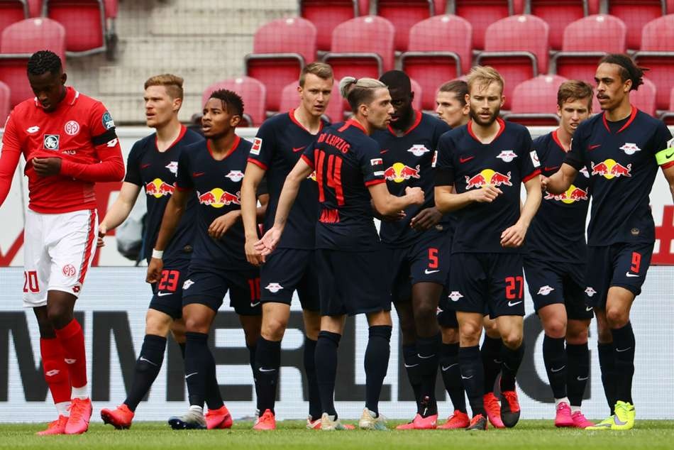 Rb Leipzig 13 0 Mainz The Most One Sided Match Ups In A Season In Europe S Top Five Leagues Mykhel