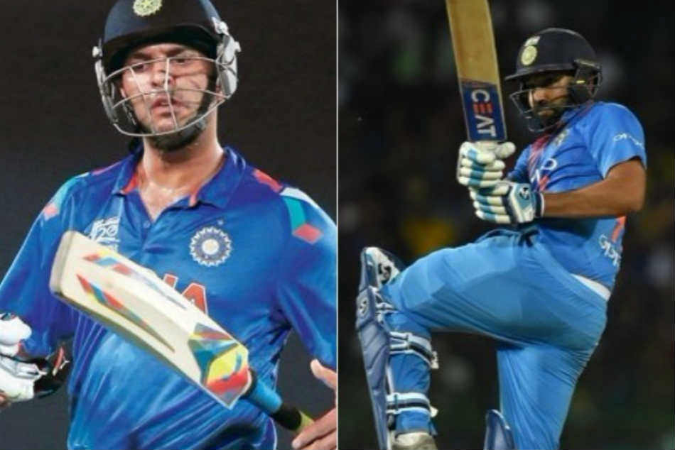 After Sachin Tendulkar, Rohit Sharma accepts Yuvraj Singh's problem in his personal distinctive fashion – Watch