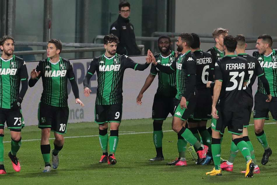Coronavirus Sassuolo Become First Serie A Club To