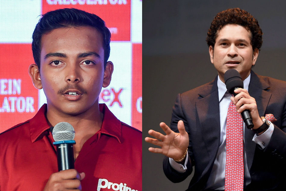 Sachin Sir speaks about mental aspects than technical ones: Prithvi Shaw