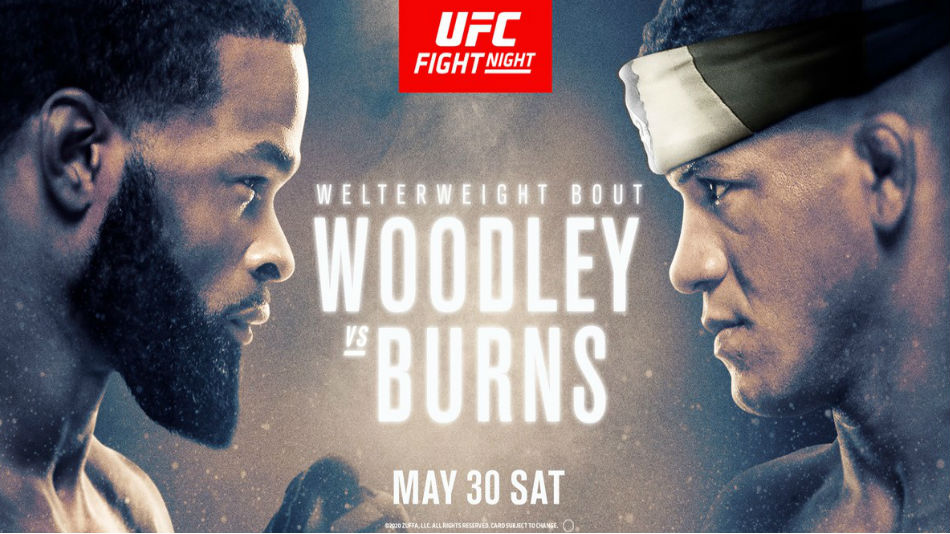 UFC on ESPN 9: Woodley vs. Burns fight card, date, start time and where to watch