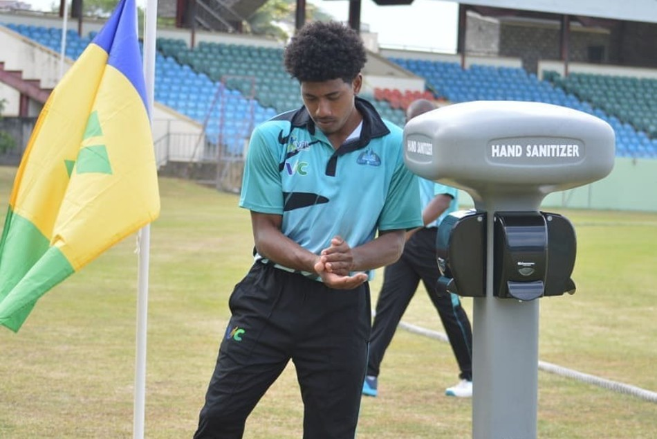 No fans, no saliva, hand sanitisers on boundary: Vincy T10 Premier League 2020 begins cricket in times of coronavirus