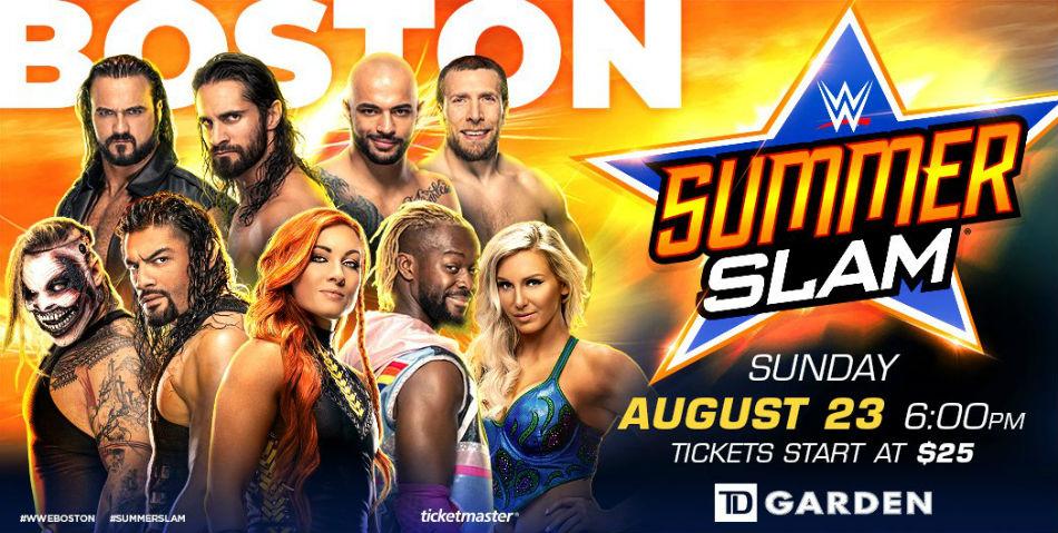 WWE SummerSlam 2020 live