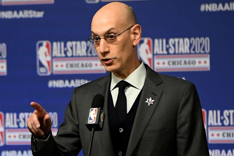 Coronavirus: Adam Silver mulling whether older coaches should be on bench when season resumes