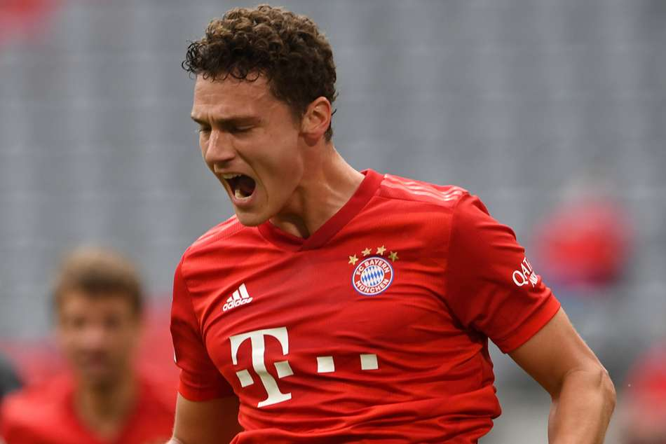Benjamin Pavard dreaming of treble with Bayern Munich