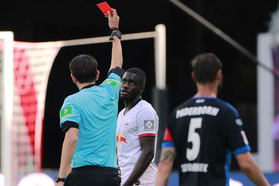 RB Leipzig 1-1 Paderborn: Upamecano red proves costly as Bundesliga's bottom side earn point