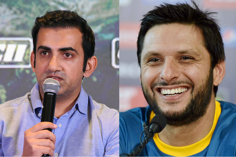 Gautam Gambhir reacts to Shahid Afridi testing optimistic for coronavirus