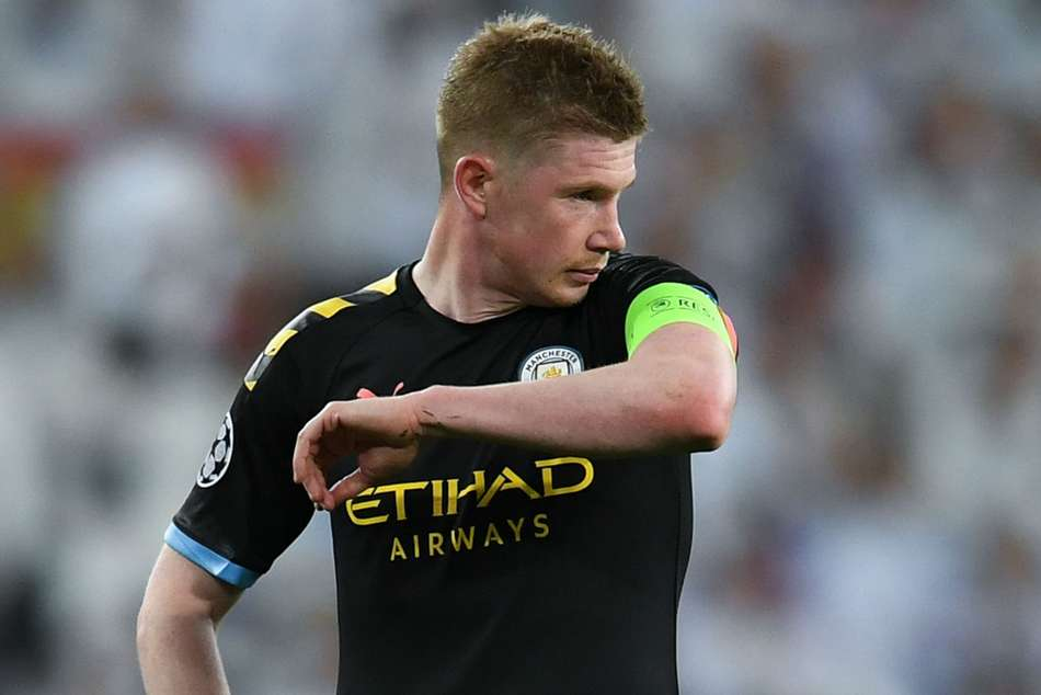 Liverpool players can't lace De Bruyne's boots - Murphy ...