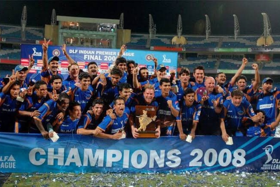 When RR lifted maiden IPL trophy