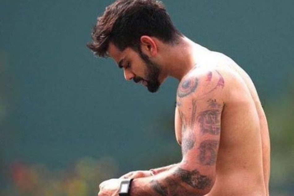 Virat Kohli Know All 11 Body Tattoos Adorned By India Captain And Their Meaning Mykhel Check out for the latest photos of virat kohli along with virat kohli gallery, recent images of virat kohli at times virat kohli is an international cricketer who currently captains the india national team. virat kohli know all 11 body tattoos