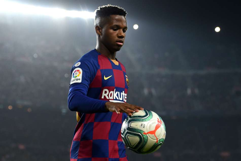 Barcelona are set to re-sign Ansu Fati until 2024