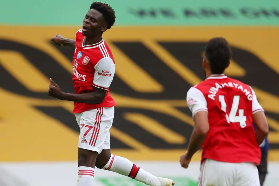Wolves 0-2 Arsenal: Saka, Lacazette strike blow in battle for Europe