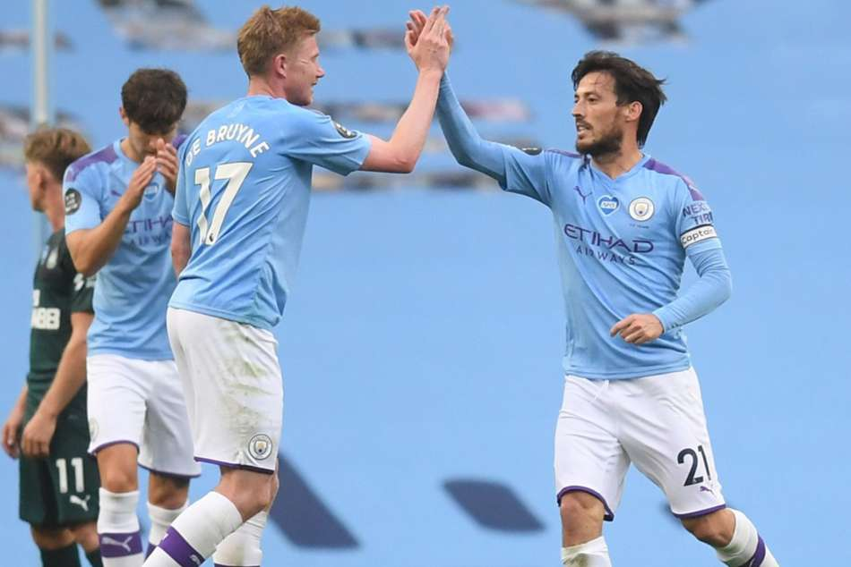 Manchester City 5-0 Newcastle United: Silva sparkles against abject Magpies