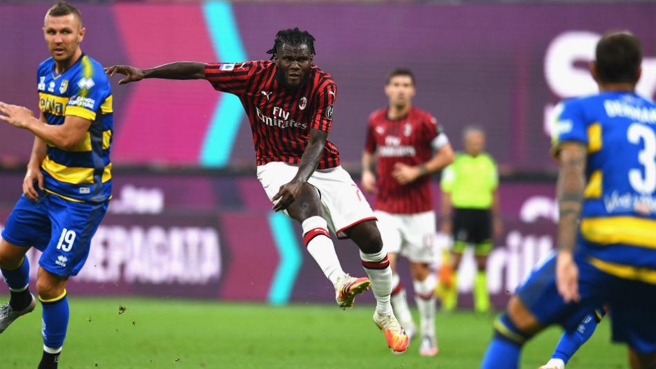 Milan 3-1 Parma: Kessie thunderbolt leads Rossoneri comeback