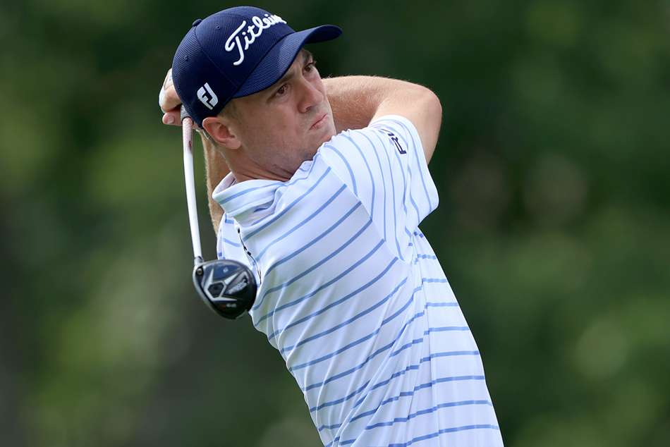 Thomas grabs two-stroke lead at Workday Charity Open
