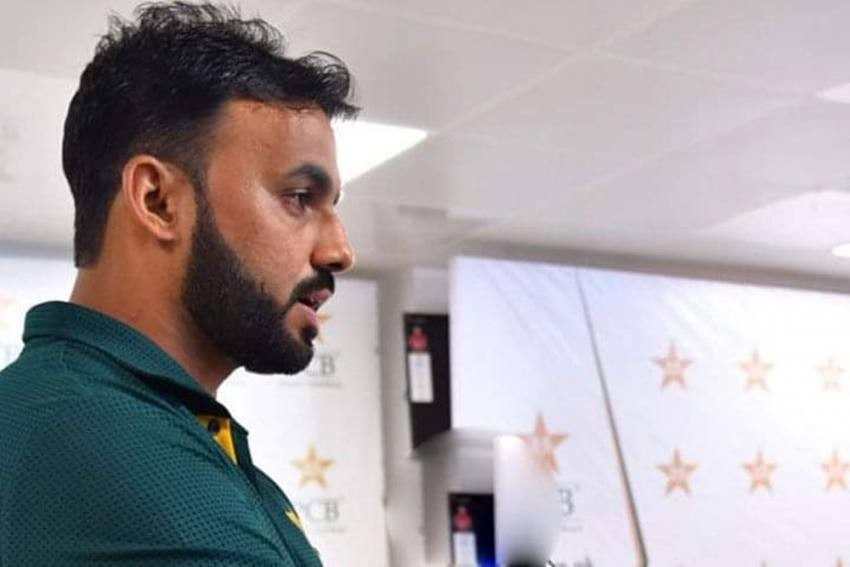 Pakistan spinner Kashif Bhatti joins squad after testing COVID detrimental