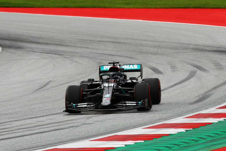 Hamilton dominates as Mercedes seal a pair of one-twos