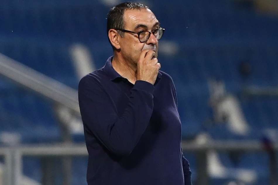 Sarri left 'perplexed' by Juve after surrendering lead in Sassuolo draw