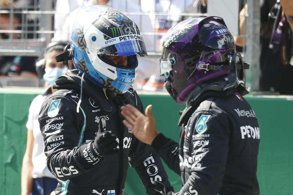 Bottas claims pole with Vettel 11th as Ferrari struggle in Austria