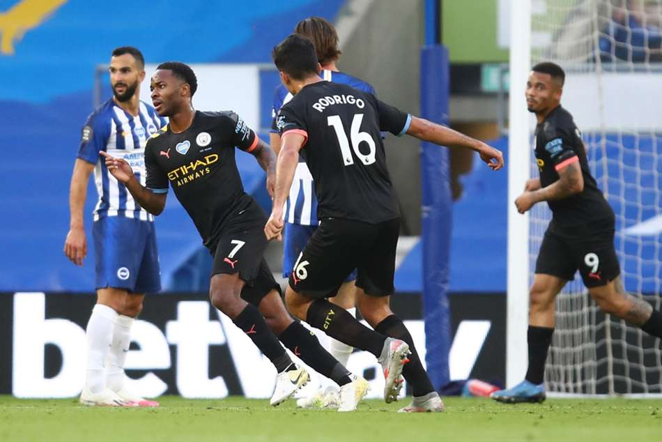 Guardiola hails Sterling's development after Man City star's hat-trick