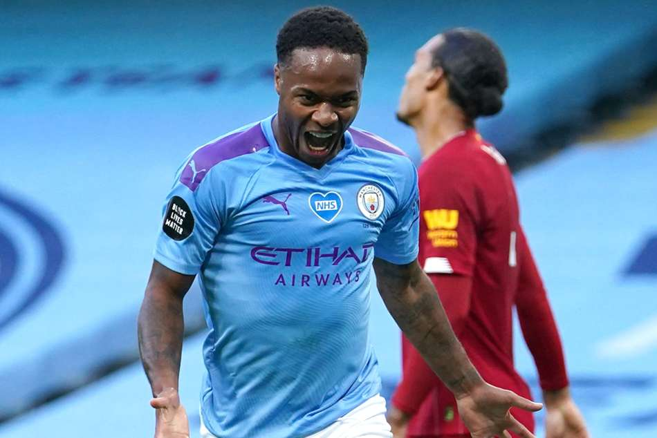 Raheem Sterling Manchester City Two Finals