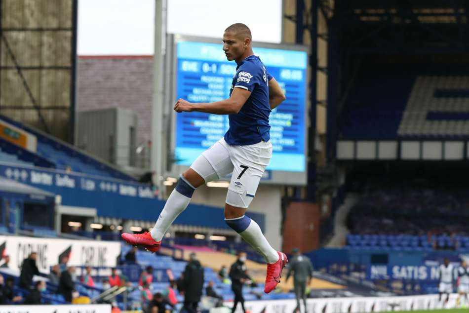 Everton 1-1 Southampton: Richarlison secures point for Toffees