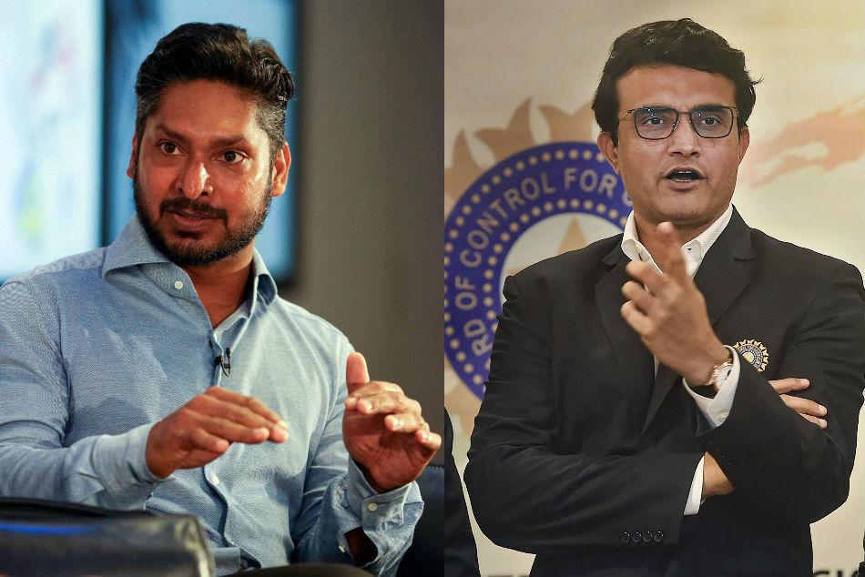 Kumar Sangakkara backs Sourav Ganguly for ICC top post