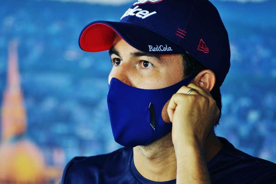 Sergio Perez Coronavirus British Grand Prix