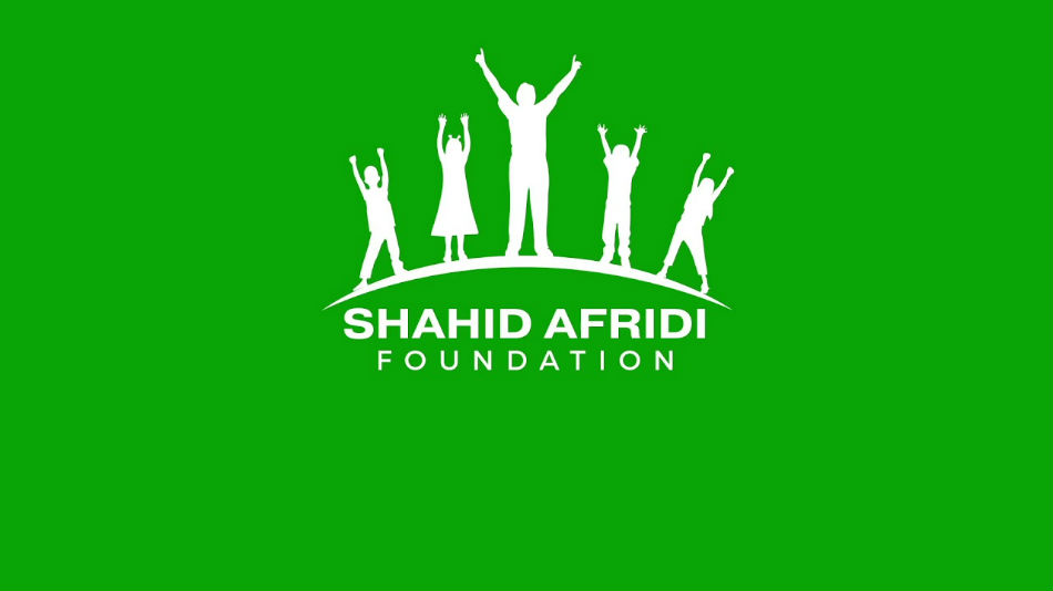 Shahid Afridi Foundation logo to feature on Pakistani kits in England tour