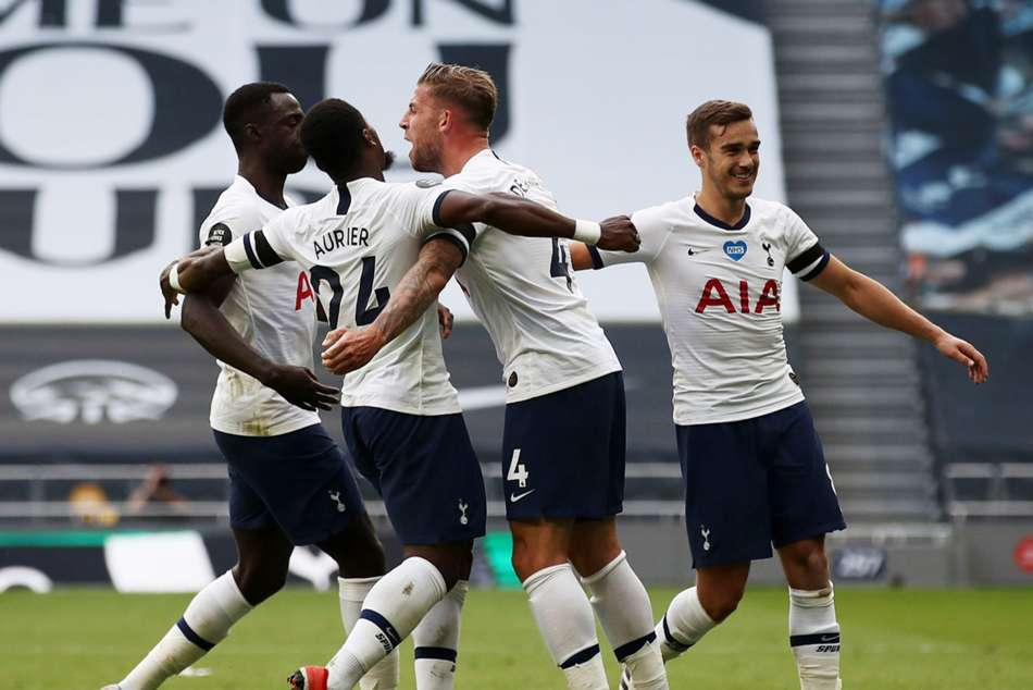 Tottenham 2-1 Arsenal: Alderweireld settles north London derby to boost European hopes